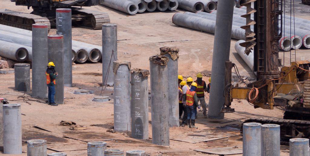 Concrete Pile Construction
