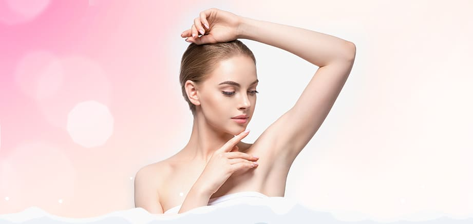 Everything you want to know about underarm hair removal