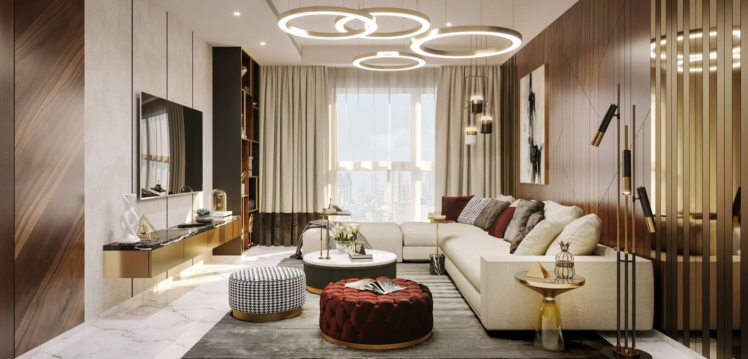 Make Your Space Graceful Through Admirable Interior Designs